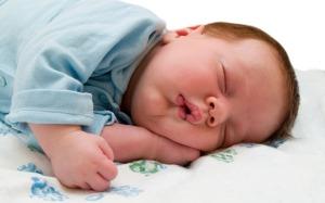 Sleeping like a baby!